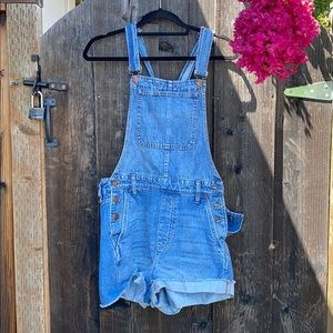NWOT Madewell overall shorts M